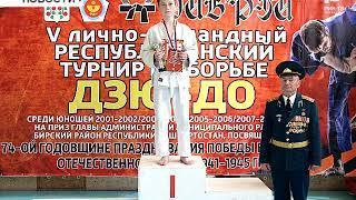 4 крупных соревнования по дзюдо прошло в Бирске за май