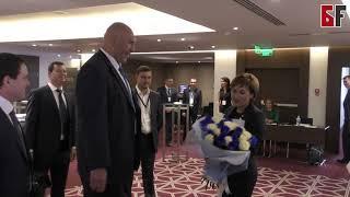 Николай Валуев лично поздравил Руфину Шагапову с победой на выборах в Госсобрание РБ