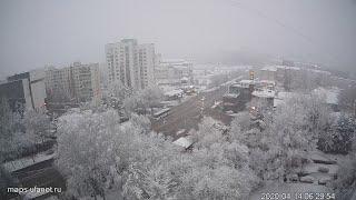 UTV. В Уфу в середине апреля вернулась зима
