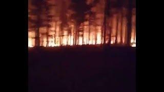 Армагеддон в Иркутской области, и нет никаких мчс. Люди горят в машинах
