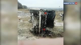В Башкирии водитель «Мерседеса» протаранил ворота кладбища