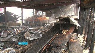 Сразу два серьёзных пожара произошло сегодня в Уфе