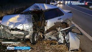 В Уфе ВАЗ врезался в автоцистерну: водитель погиб