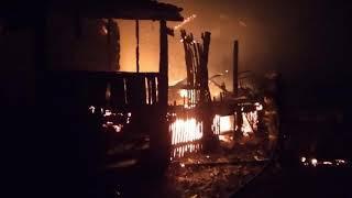 В Башкирии при пожаре в жилом доме погибли женщина и двое ее детей