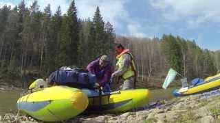 Сплав по реке Нугуш - Башкирия 2013 фильм-отчет