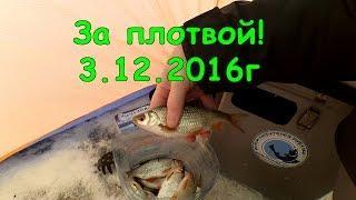Рыбалка под Уфой (Миловский карьер) 3.12.2016г.