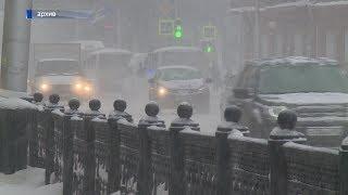 В Башкирии похолодало до -30 градусов