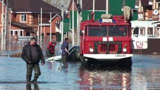 Работы в зоне подтопления п  Зубово Уфимского района