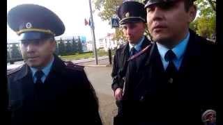 Давление полиции Нефтекамска  на сбор подписей