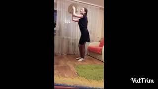 """Самоизоляция с пользой. Солистка ансамбля народного танца """"Сибай"""" Элина Узянова."""