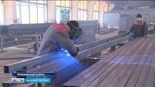 В Башкирии освоили новое производство: в Илишевском районе теперь делают быстровозводимые теплицы