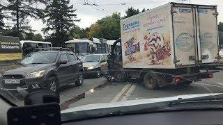 Массовая авария в Черниковке
