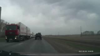 Возле Дюртюлей, на трассе М7 авария со смертельным исходом