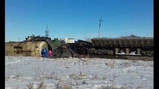 Учалы, Башкирия, столкнулось два поезда, 4 погибло, страшная авария, видео МЧС,