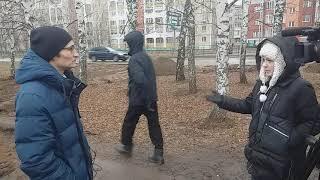 Депутат Нефтекамска Ильнур Салахов даёт интервью