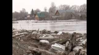 весенний паводок в Башкирии 2013