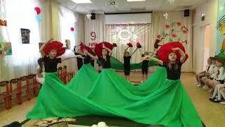 Танец  на 9 мая в детском саду № 472 Екатеринбург