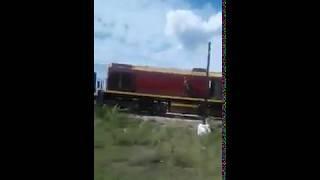 В Сибае грузовой состав сошёл с рельсов