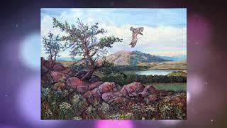 Художник Юмор Атауллин (Абзелиловский район, проект «Любимые художники Башкирии»)