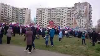 парад Победы Гидростроитель