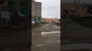 Октябрьский РБ дорога за верхним апельсином в 35 Мкр  ужас