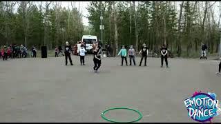 Emotion of Dance выступление в парке Солнечный г. Давлеканово