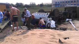 Камаз перевернулся Башкирия посёлок Дедово mp4