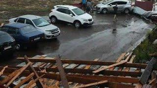 Уроган в селе Чекмагуш Башкирия снесло крыши домов это шок 2021 год