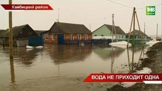 В Татарстан пришла большая вода: по прогнозам МЧС вода грозит двум сотням населенных пунктов - ТНВ