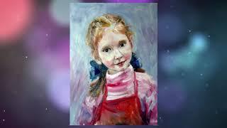 Художник Евгения Полюдова (город Уфа, проект «Любимые художники Башкирии»)