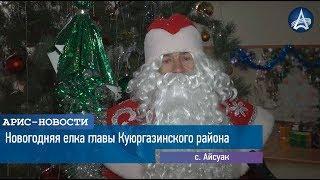 Новогодняя елка главы Куюргазинского района