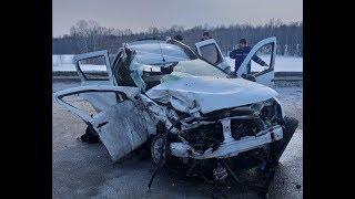 Двое погибли, пятеро пострадали в ДТП на трассе в Башкирии