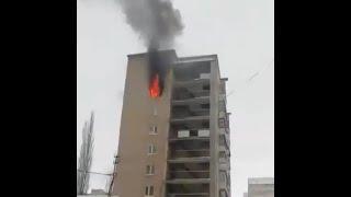 В Салавате загорелась квартира с тремя детьми   Ufa1.RU