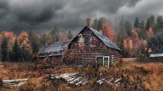 1.26 Деревня Бурцево - обитаема или заброшена? Осенний сталк.