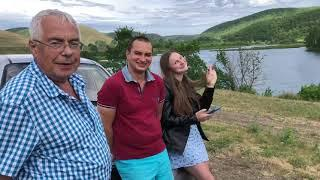 В Оренбург #4 Дорога от Бекешево до Саракташ и Ямашлинское водохранилище - Красота!