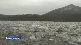 Большая вода стремительно наступает: в нескольких районах республики затопило деревни и села