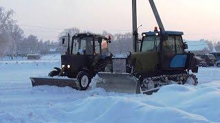 Incredible Cleaning Snow In Russia /// НЕВЕРОЯТНАЯ УБОРКА СНЕГА