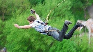 Экстремальные прыжки ropejumping г. Мелеуз (август 2013)
