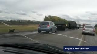 Один человек пострадал в ДТП в Краснокамском районе Башкортостана