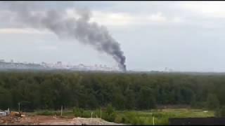 Пожар в Деме Уфа