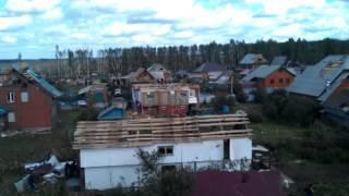 Последствия урагана в г. Янаул РБ
