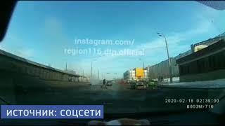 Момент смертельного ДТП на проспекте Победы попал на видео
