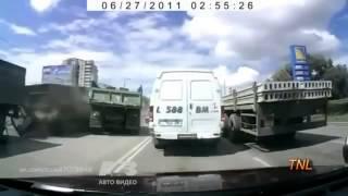 Подборка страшных ДТП с грузовиками на видеорегистратор. Аварии. Подборка