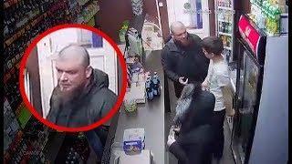 Бородатый подполковник батальона Восток в магазине (полное видео)