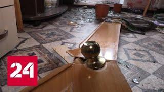 В Ачинском районе, пострадавшем от пожара на арсенале, идут восстановительные работы - Россия 24