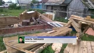 Последствия урагана в Ишимбайском районе