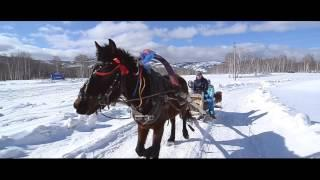 Отдых на Банном зимой в гостинице Евразия