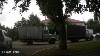 Авария РБ Ишимбай ТЦ Дарья (страсти накаляются в пробке возле аварийного моста)