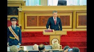 Торжественная церемония вступления в должность Главы Республики Башкортостан Радия Хабирова