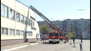 """Пожарные учения в СК """"Юбилейный"""""""